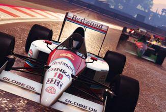 Formule v GTA Online a spekulace o GTA 6 kvůli novému logu Rockstaru
