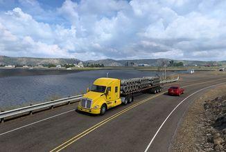Wyoming a vylepšená Kalifornie v American Truck Simulatoru