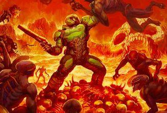 Na konzole vyjdou v krabičce všechny čtyři díly krvavé střílečky Doom