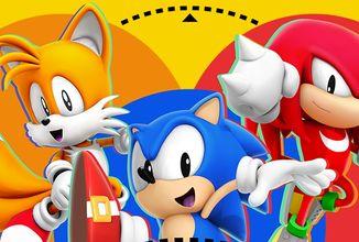 Modrý ježek se opět vrací na scénu ve svém unikátním remixu Sonic Mania