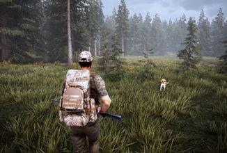 V Hunting Simulatoru 2 vám při lovu zvěře bude pomáhat pes