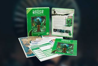 Filmové štúdio A24 vydáva Green Knight RPG s témou filmu a prezentuje ju retro trailerom
