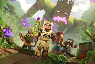 Minecraft Dungeons nás už za necelé dva měsíce v prvním DLC pošle do džungle