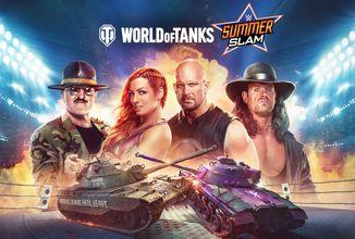 World of Tanks podporuje cross-play na konzolích a přichází s hvězdami wrestlingu