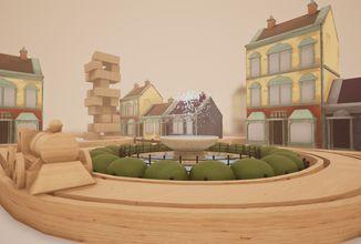Úžasný simulátor dřevěných kolejí vás vrátí do dětství