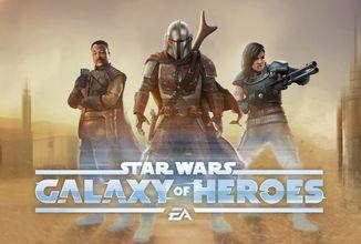 Do Galaxy of Heroes pribudnú postavy z Mandaloriana