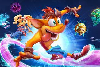 Crash Bandicoot 4 dorazí na PC, PS5, Xbox Series X/S a Switch