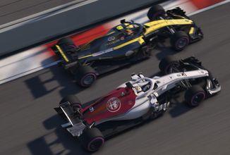 Známe systémové požadavky nejnovější herní adaptace závodů F1