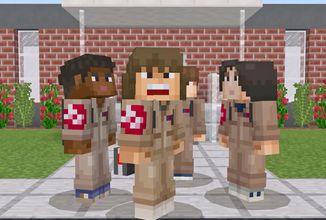 Prožijte dobrodružství ze seriálu Stranger Things ve hře Minecraft díky novým skinům!