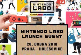 Spuštění Nintendo Labo se rychle blíží! Co takhle přijít na oficiální launch akci?