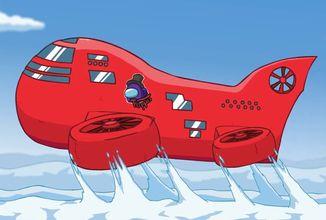 Among Us ukazuje očekávanou novou mapu The Airship