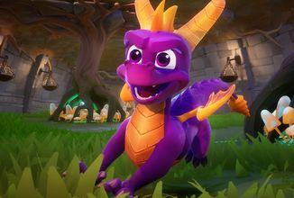 Spyro: Reignited Trilogy si nyní můžete zahrát i na PC a Switchi