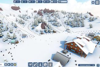 Zažijte správnou zimu při budování sjezdovek ve hře Snowtopia