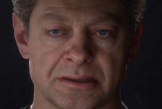 Snímání obličeje je reálnější než kdy předtím – Andy Serkis v roli mimozemšťana