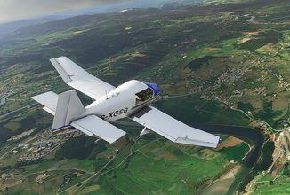 Microsoft Flight Simulator na Xboxu Series X/S bude přístupnější. Všechny verze zkrášlí Německo
