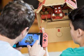 Do Nintendo Labo přijde i třetí stavebnice - Vehicle Kit