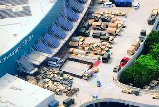Výstaviště E3 v Los Angeles se změnilo ve vojenskou základnu a Call of Duty odkládá novou sezónu