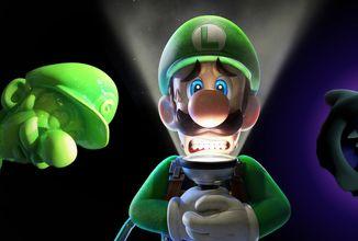 Nintendo kupuje tvůrce Luigi's Mansion 3