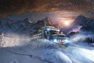 Alaskan Truck Simulator kombinuje tradiční kamionový simulátor, Aljašku a survival