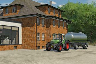 Nový stavební režim ve Farming Simulatoru 22 vypadá jako budovatelská hra
