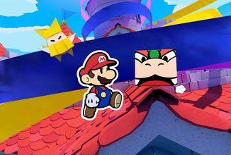 Paper Mario vyjde na Switch. Hráči se postaví novým výzvám a zachrání svět před zlým králem