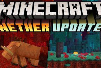 Minecraft je o krok blíže k vydání Nether Updatu verze 1.16