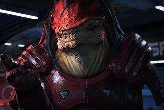 Statistiky komunity z remasteru Mass Effectu dokazují nejen bezbřehou oblibu Wrexe