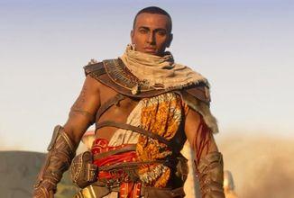 Hlavní dabér Assassin's Creed Origins láká na velké oznámení