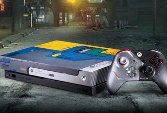 Objevena tajná zpráva CD Projektu RED na limitovaném Xboxu One X v designu Cyberpunku 2077