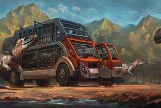 Ve hře Prehistoric Kingdom si budete moct postavit svůj vlastní Jurský park