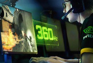 Asus a Nvidia představili první 360Hz monitor