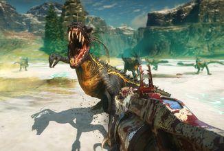 Second Extinction připomíná Turoka a Left 4 Dead. V kooperativní střílečce bojujete proti zmutovaným dinosaurům