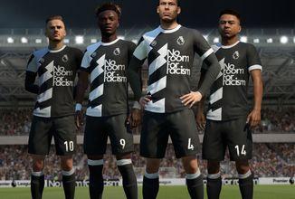 Nová sada dresů ve FIFA 20 upozorní na problém s rasismem