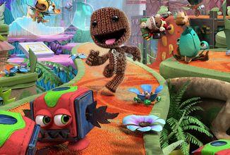 Ukázka z PS5 verze Sackboy: A Big Adventure