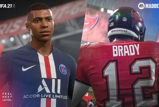 Nová generace konzolí posune sportovní hry od EA velký krok kupředu