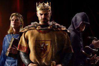 Další díl populární strategie Crusader Kings se blíží. Vybudujete úspěšnou říši?