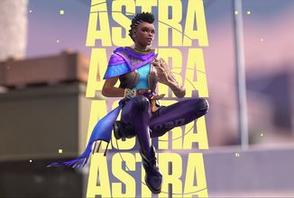 Novým agentem pro Valorant je astrální Astra