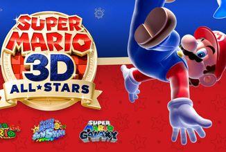 Super Mario 64, Super Mario Sunshine a Super Mario Galaxy znovu ožívají na Nintendu Switch
