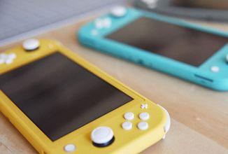 Nintendo přivítalo do rodiny Switch Lite