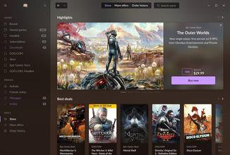 GOG Galaxy 2.0 umožní kupovat hry z jiných digitálních obchodů