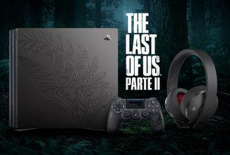 PS4 Pro, DualShock 4 a sluchátka pro fanoušky The Last of Us Part II
