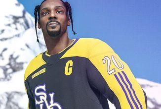 Do NHL 20 nastupuje Snoop Dogg, jako komentátor i jako hráč