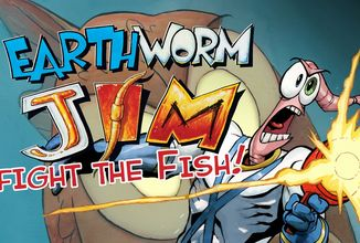 Druhá komiksová kniha Earthworm Jima na Kickstarteru