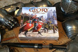 Česká spoločenská hra Glory: A Game of Knights z vás urobí rytiera