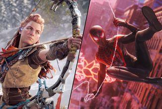Oznámen nový Spider-Man, Gran Turismo 7, Resident Evil 8, pokračování Horizon: Zero Dawn a další pecky na PS5