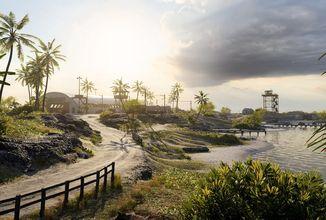 Kultovní mapa Wake Island brzy v Battlefieldu 5