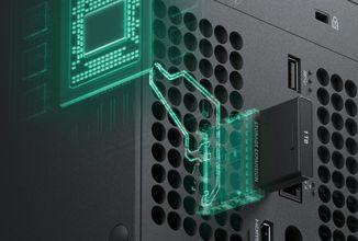 Rozšíření úložiště Xboxu Series X a Series S bude stát přes 5000 korun
