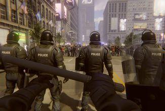 V novém simulátoru budeme zastavovat rozzuřený a agresivní dav v ulicích