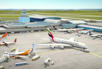 Česká mobilní hra World of Airports umožní řídit pražské letiště
