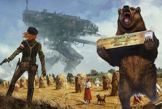 Medvěd proti Teslovým mechům v první světové válce? To je alternativní historie Iron Harvest